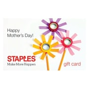 Staples Mothers Day Gift Card $50