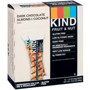 KIND Dark Chocolate Almond and Coconut Bar, 12/Box
