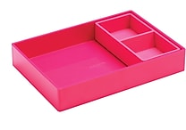 Poppin Pink Double Tray