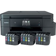 Brother MFC-J985DW XL Work Smart All-in-One Inkjet Printer with 12 INKvestment Cartridges