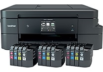 Brother MFC-J985DW XL Work Smart All-in-One with 12 INKvestment Cartridges