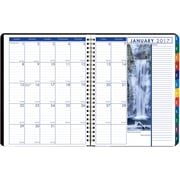 2017 House of Doolittle 8.5 x 11 Weekly/Monthly Tabbed Planner Earthscapes (HOD273)