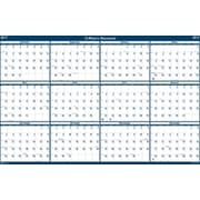 2017 House of Doolittle 24 x 37 Laminated Wall Calendar Planner Reversible (HOD396)