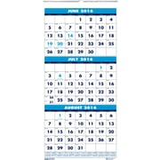 2017 House of Doolittle 12.25 x 26 Three Month Wall Calendar (HOD3640)