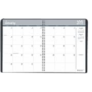 2017 House of Doolittle 8.5 x 11 Monthly Planner Black (HOD26202)