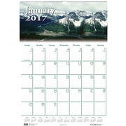 2017 House of Doolittle 12 x 16.5 Scenic Wall Calendar Earthscapes (HOD378)