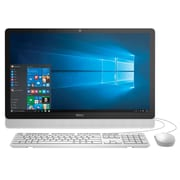 "Dell Inspiron i3455-8041WHT 23.8"" Touchscreen All in One (AMD A6, 4 GB RAM, 1 TB HDD, White Bezel with SIlver Easel)"