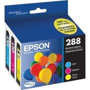Epson T288 Color C/M/Y DuraBrite Ultra Ink Cartridges, (T288520) Combo 3/Pack