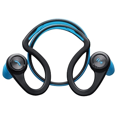 Plantronics – Casque d'écoute Bluetooth sans fil BackBeat Fit, bleu