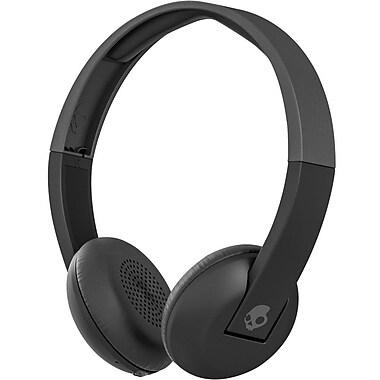 Skullcandy Uproar Wireless On-Ear Bluetooth Headphones, Black/Gray