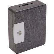 Hercules Key Cabinets Key Lock, 32-Key, Steel, Silver Vein