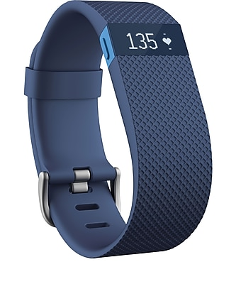 Fitbit ChargeHR, Small, Blue