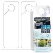 Blanks USA Small Door Hanger 3.37 x 10.25 2 up 14pt