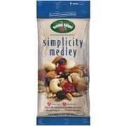 Second Nature Trail Mix Simplicity Medley, 2.25 Oz., 12/Ct