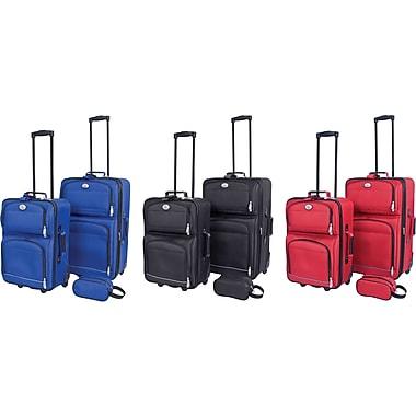 Overland - Ensemble de valises à roues multidirectionnelles, 3 morceaux