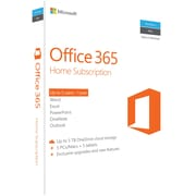 Office 365 Home - 1 Year Subscription for Windows/Mac (1-5 Users) [Product Key Card]