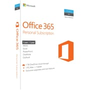 Office 365 Personal - 1 Year for Windows/Mac (1-2 Users) [Product Key Card]