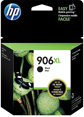 HP 906XL Black Ink Cartridge T6M18AN 140 High Yield
