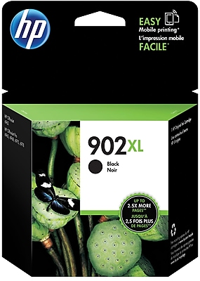 HP 902XL Black Ink Cartridge T6M14AN 140 High Yield