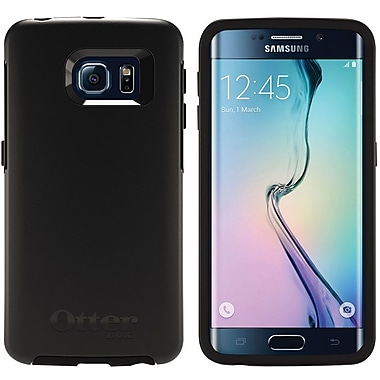 Otterbox Symmetry Series Case For Galaxy S6 Edge - Black