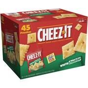 Cheez-It White Cheddar Crackers, 1.5 oz. bags, 45/Box