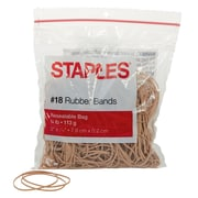 Staples® Economy Rubber Bands Size #18