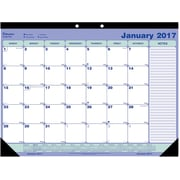 "2017 Blueline® 21-1/4"" x 16"" Monthly Desk Pad Calendar(C181731)"