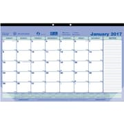"2017 Brownline® 17-3/4"" x 10-7/8"" Monthly Desk Pad Calendar(C181700)"