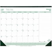 2017 Brownline EcoLogix 22 inch x 17 inch 100% Recycled Monthly Desk Pad(C177437) by