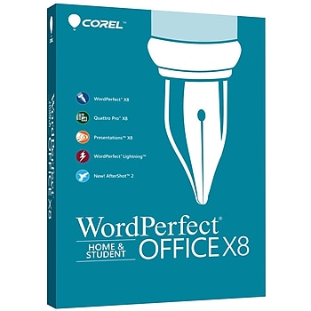 WordPerfect Office X8 1-3 Users for Windows