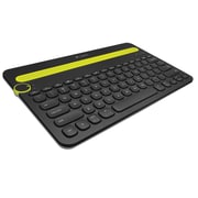 Factory Recertified Logitech K480 Wireless Bluetooth Keyboard, Black (920-006342-RB)
