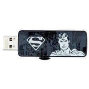 Emtec 16GB 15 Mbps Read/5 Mbps Write SuperHero USB 2.0 Flash Drive, Black/White (ECMMD16GM700SP03)