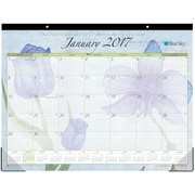 2017 Blue Sky 22x17 Monthly Desk Pad Calendar, Emily (18014)
