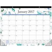 2017 Blue Sky 22x17 Monthly Desk Pad Calendar, Lindley (18023)