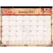 2017 Blue Sky 22x17 Monthly Desk Pad Calendar, Heather (18019)