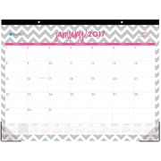 2017 Dabney Lee for Blue Sky 22x17 Monthly Desk Pad Calendar, Ollie (19305)