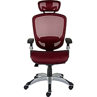 Staples Hyken Technical Mesh Task Chair (Red)