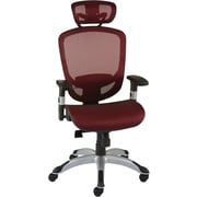 Staples Hyken™ Technical Mesh Task Chair, Red