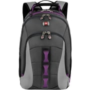 "SwissGear Skyscraper Charcoal/Magenta 16"" Laptop Backpack (28038050)"