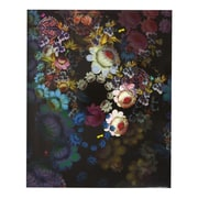 Cynthia Rowley, Two Pocket Folder, Cosmic Black Floral (29728) by