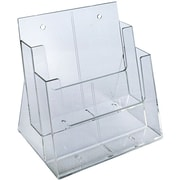 Two-Tier Two-Pocket Letter Sized Brochure Holder