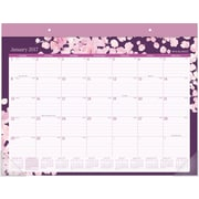 "AT-A-GLANCE® Desk Pad Calendar, 2017, 21 3/4"" x 15 1/2"", Rosalita (D156 704 17)"