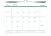AT A GLANCE® Wall Calendar, 2017, 15' x 12', Color Play (PMCP8T 42 17)
