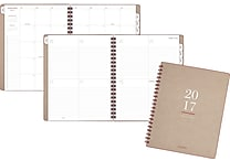 AT-A-GLANCE® Weekly/Monthly Planner, 2017, 9' x 11 1/4', Collection (YP104-0717)