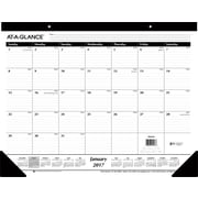 "AT-A-GLANCE® Ruled Desk Pad, 2017 12 Months, January Start, 22"" x 17"" (SK24 00 17)"