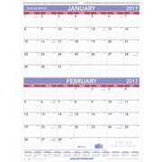 """AT A GLANCE® Two Month Wall Calendar, 2017, 22"""" x 29"""" (PM9 28 17)"""
