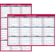 "AT-A-GLANCE® Vertical/Horizontal Erasable Wall Calendar, Reversible, 2017, 48"" x 32"" (PM326 28 17)"
