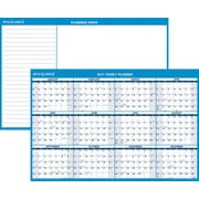 "AT A GLANCE® Horizontal Erasable Wall Calendar, Reversible for Planning Space, 2017, 48"" x 32"" (PM300 28 17)"