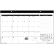 "AT A GLANCE® Compact Desk Pad, 2017, 17 3/4"" x 10 7/8"" (SK14 00 17)"