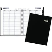 "DayMinder® Weekly Appointment Book, Hard Cover, 2017, 8"" x 11"" (G520H-00-17)"